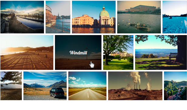 Responsive WordPress Grid Gallery Example